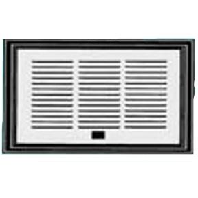 8030211322 Lower Sidewall Refrigerator Vent Door This Louvered Refrigerato