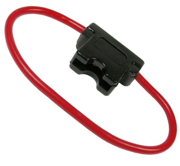 0963PT 20 Amp ATC/ATO In-Line Fuse Holder - This in-line fuse holder ...